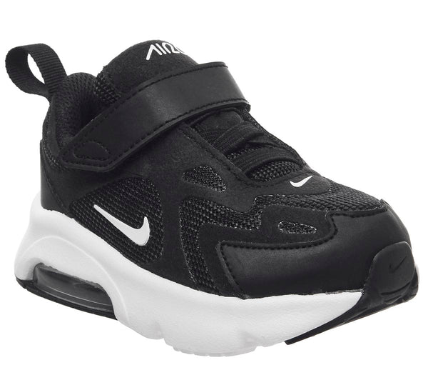 Kids Nike Air Max 200 Td Black White