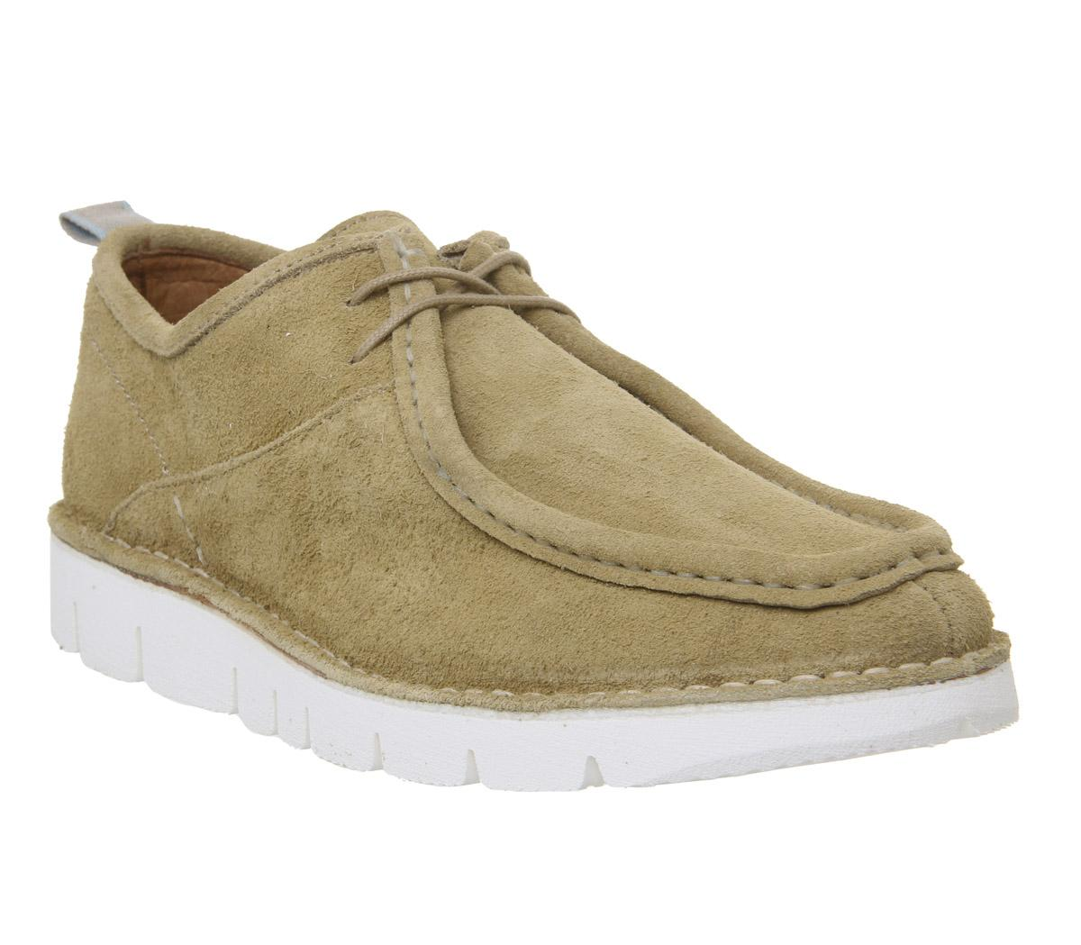 Mens Shoe The Bear Milford Shoe Tan Suede