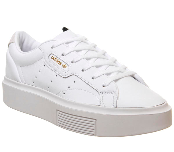 Odd sizes - Womens Adidas Sleek Bold White White Crystal White Sizes R7/L6
