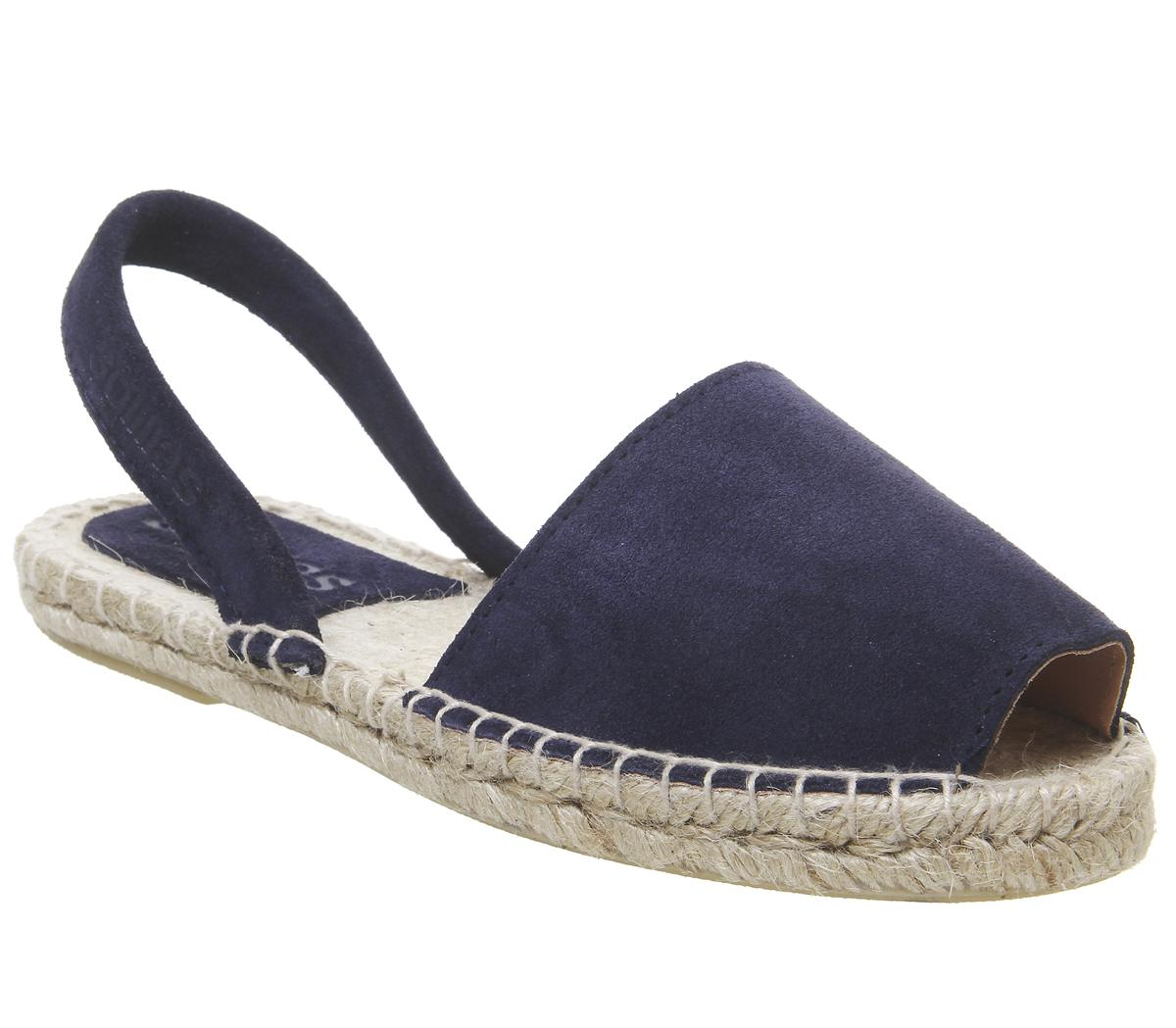 Womens Solillas Solillas Estrella Navy