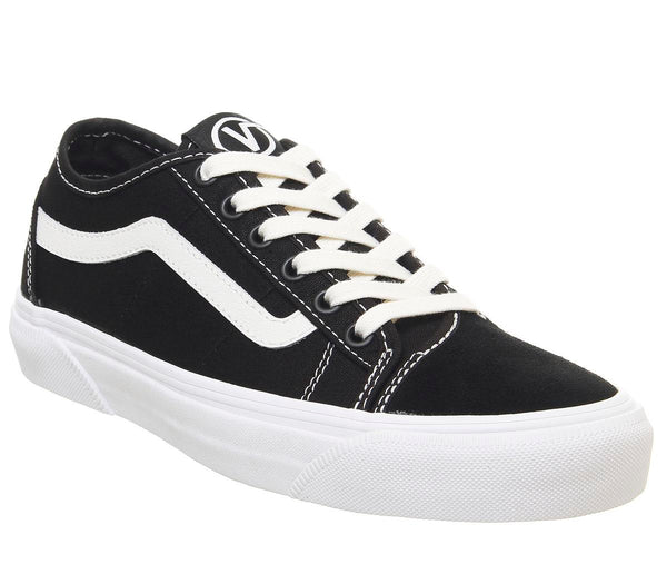 Womens Vans Bess Ni Black White