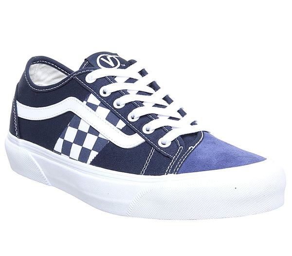 Womens Vans Bess Ni Navy Stv Navy Check Off