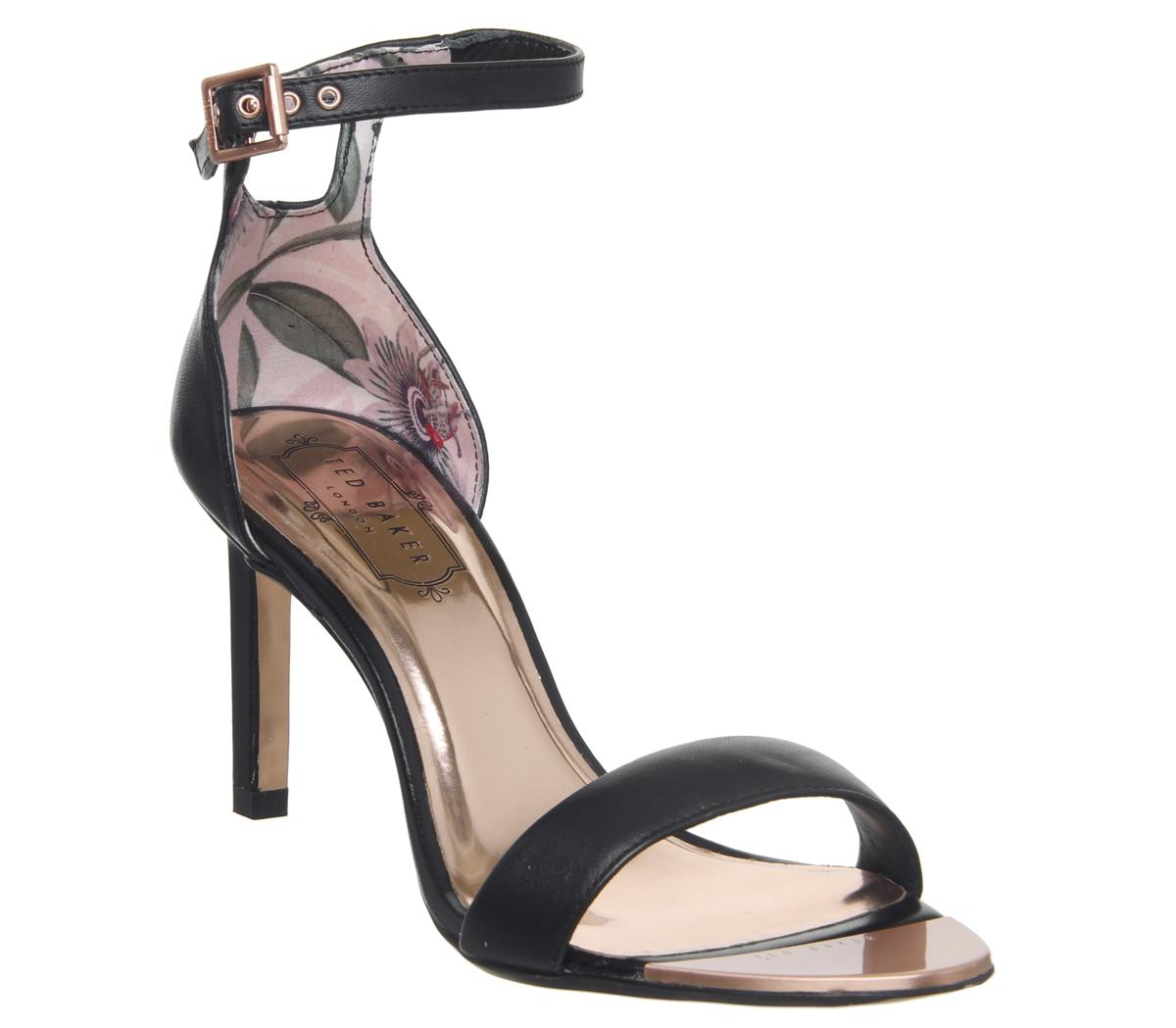 Womens Ted Baker Ulani Heels Black Leather