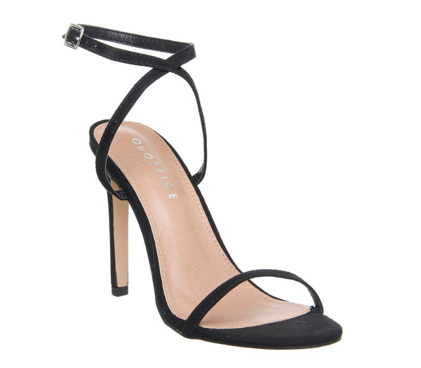 Womens Office O Hinch Ankle Strap Sandal Black