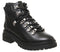 Womens Office Above All Hiker Boot Black Leather