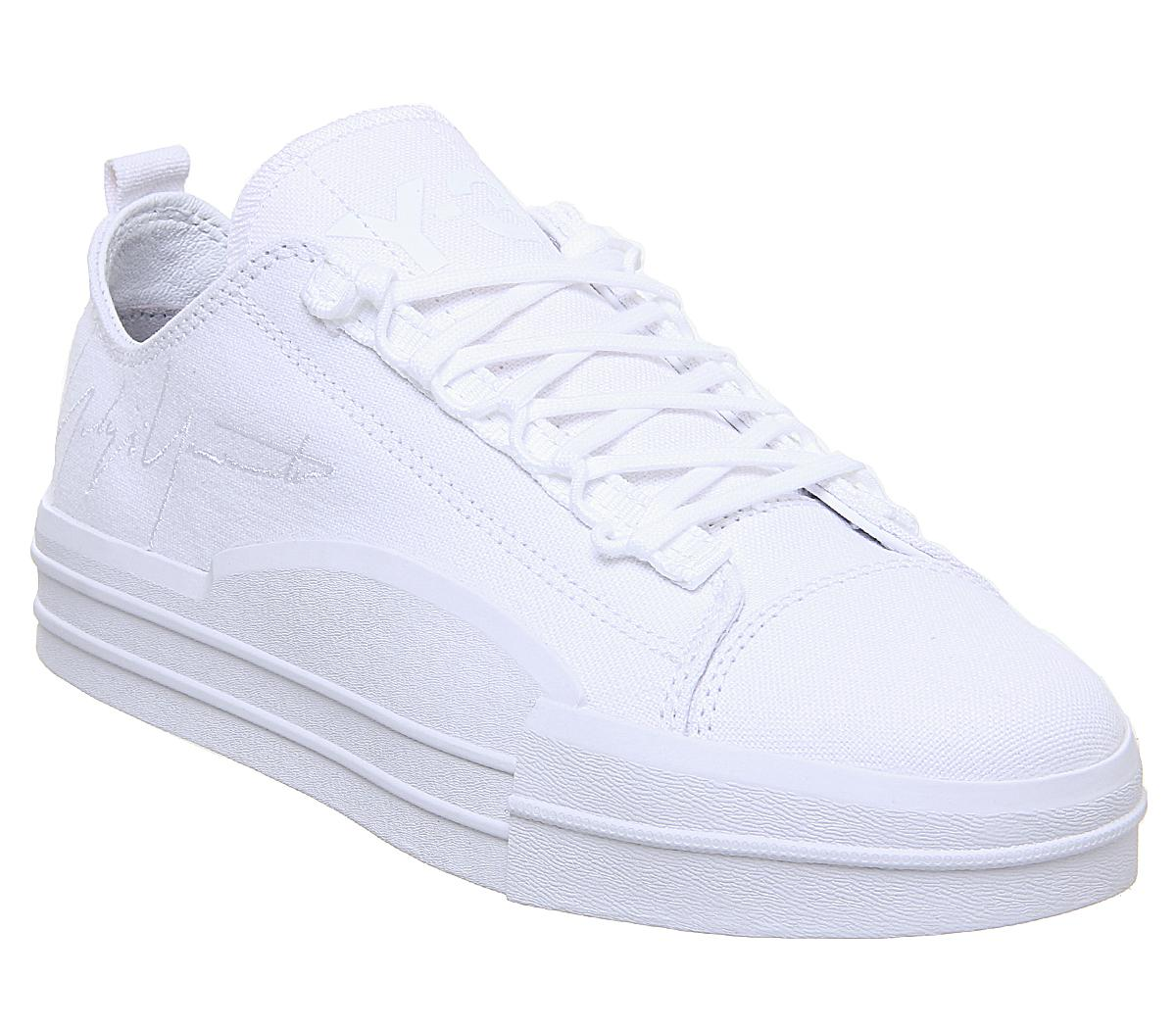 Mens Adidas Y3 Yuben Low Off White