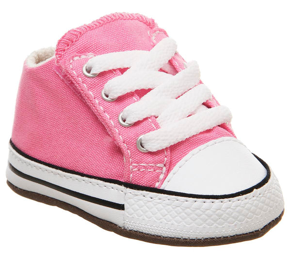 Kids Converse Cribstar Pink Natural Ivory White