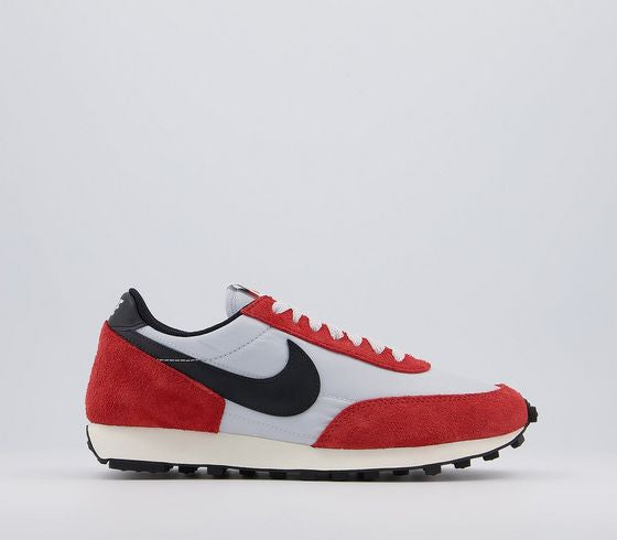 Mens Nike Daybreak Pure Platinum Black Gym Red Sail