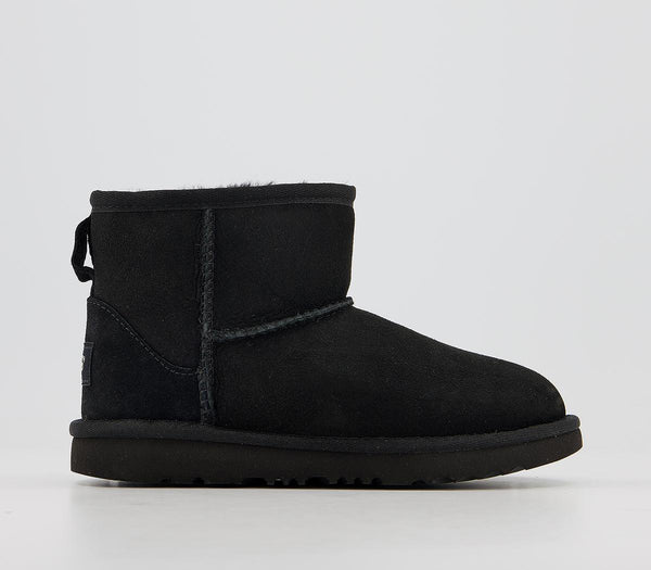 Kids UGG Classic Mini II Boots Black
