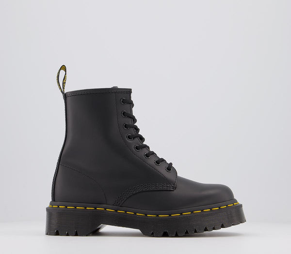 Odd Sizes - Womens Dr.Martens Bex 8 Eye Boots Black UK Sizes R5/L6