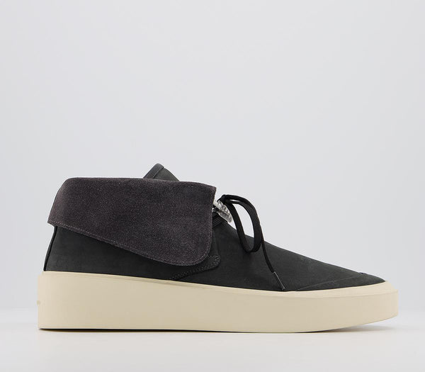 Mens Fear of God Chukka Trainers Black