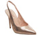 Womens Office Honeymoon Sling Court Rose Gold Lizard