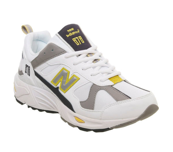 Mens New Balance Cm878 White Canary Uk Size 7