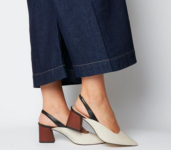 Womens Office Muse Point Slingback