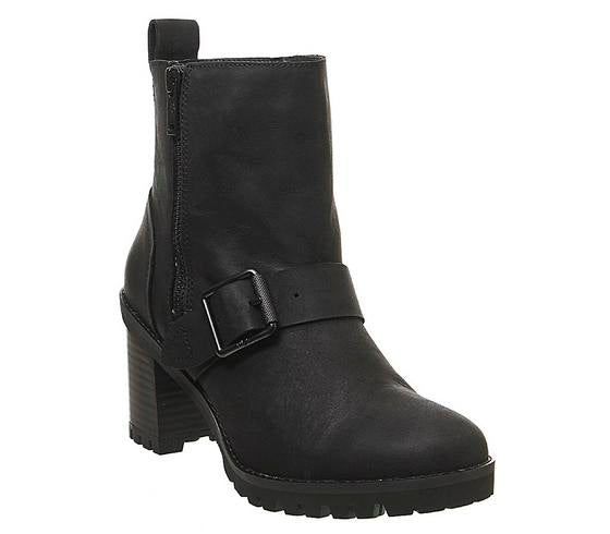 Womens Ugg Fern Ankle Boot Black Uk Size 5