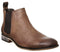 Mens Office Barkley Chelsea Boot Brown Waxy Leather