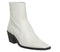 Womens Office Arise Unlined Boot Off White Leather