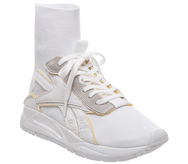 Womens Reebok Vb Bolton Sock White