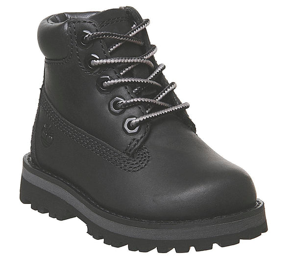 Kids Timberland Courma 6 Inch Boot Infant Black Full Grain
