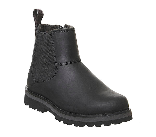 Kids Timberland Courma Chelsea Youth Black Full Grain