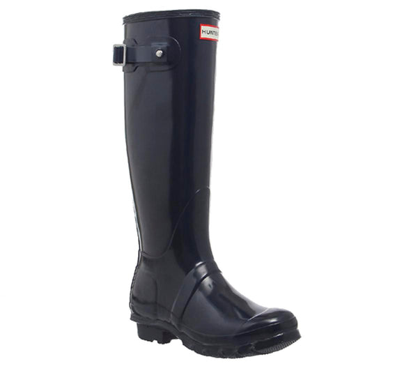 Womens Hunter Original Welly Navy Gloss