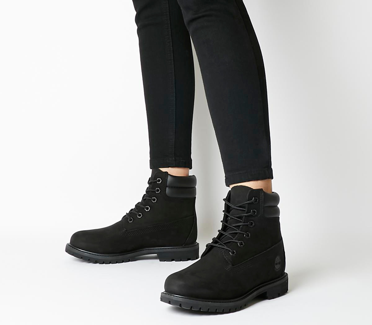 Womens Timberland Waterville 6 Inch Double Black
