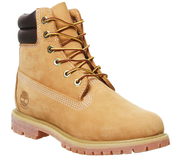 Odd sizes - Womens Timberland Waterville 6 Inch Double Wheat Sizes R4.5/L4