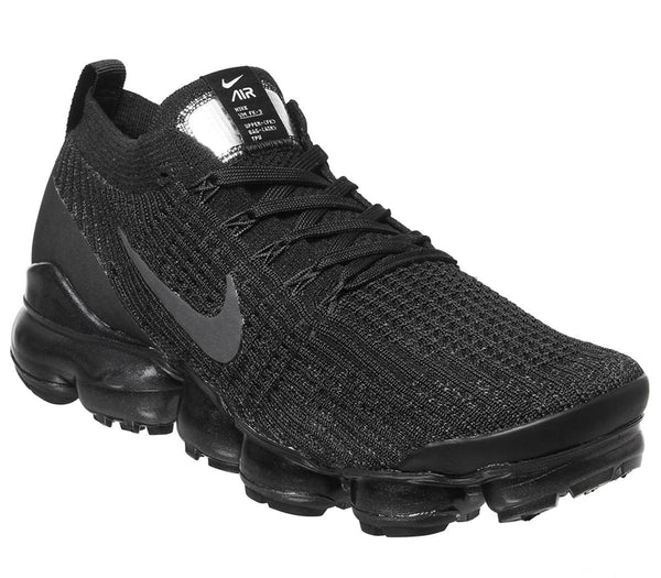 Mens Nike Air Vapormax Fk 3 Black Anthracite White Metallic Silver
