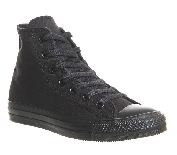 Unisex Converse All Star Hi Flash Canvas Black Mono