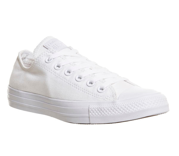 Womens Converse All Star Low Flash White Mono