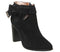 Womens Ted Baker Anaedi Block Heel Boots Black