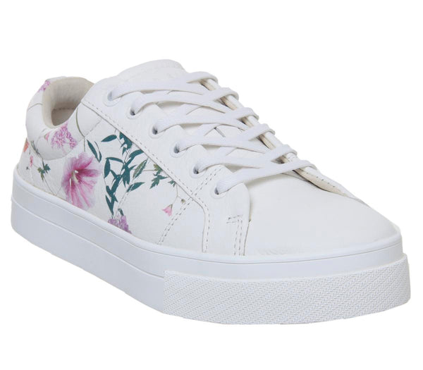 Womens Ted Baker Ephielp Sneaker White Hedgerow