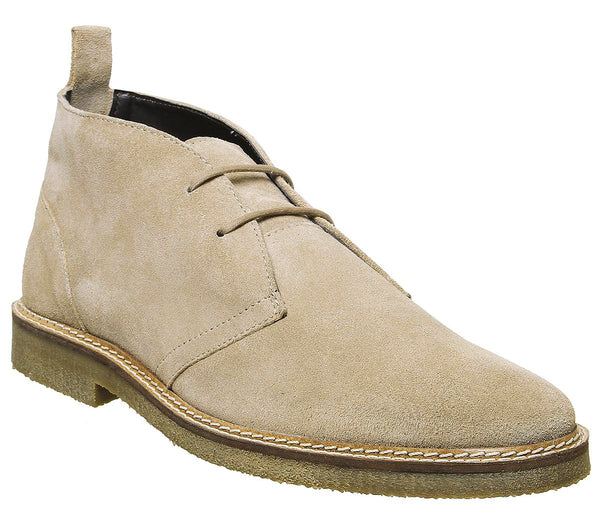 Mens Walk London Hornchurch Chukka Stone Suede Uk Size 11