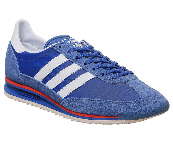 Mens Adidas Sl 72 Blue White Hires Red Uk Size 6