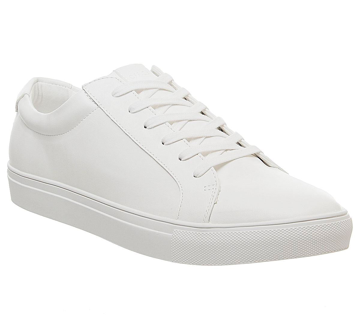 Mens Office Clayton Trainer White