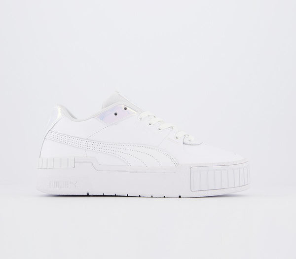 Womens Puma Cali Sport White Purple Heather