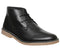 Mens Office Bake Desert Boot Black Leather