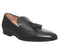 Mens Office Manta Tassel Loafer Black Leather