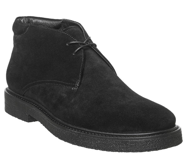 Mens Vagabond Gary Lace Up Black Suede