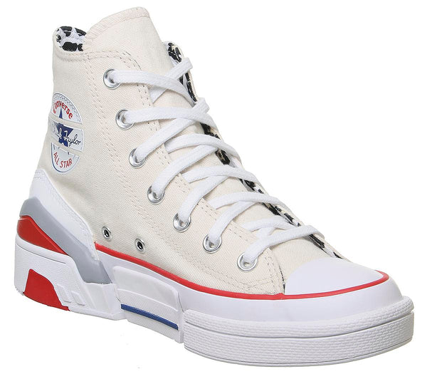 Womens Converse Cpx 70 Hi Egret White University Red