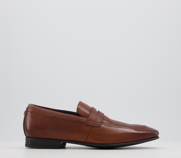 Mens Ted Baker Galle Loafers Tan