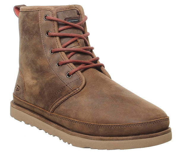 Mens Ugg Harkley Waterproof Boot Grizzly