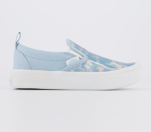 Kids Vans Comfycush Slip On (K) Sensory Dream Blue Autism Awareness