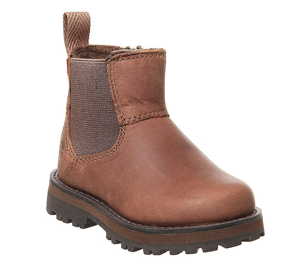 Kids Timberland Courma Chelsea Infant Medium Brown Full Grain