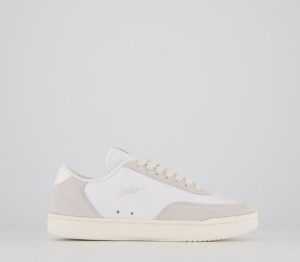 Womens Nike Court Vintage White Sail Platinum Tint Trainers