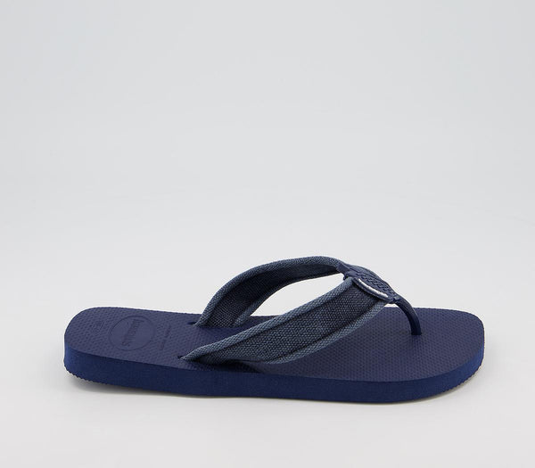 Mens Havaianas Urban Basic Sandals Blue Indigo