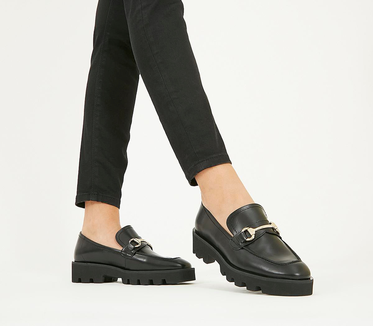 Womens Office Fixate Chunky Trim Loafer