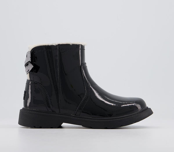 Kids Ugg Lynde Youth Black Patent