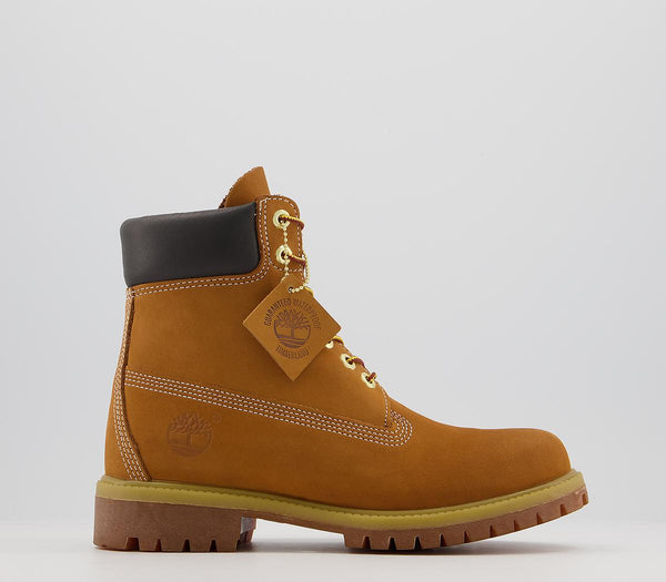 Odd sizes - Mens Timberland 6 In Buck Boot Wheat Nubuck UK Sizes R10/L11