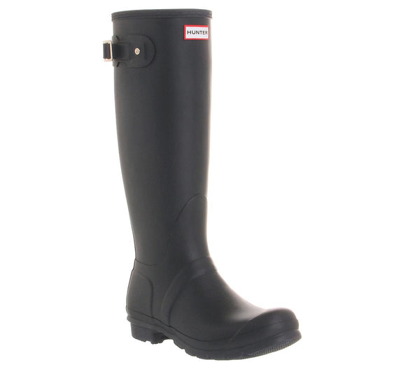 Mens Hunter Original Welly Navy Rubber